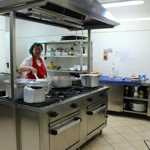 Cucina Cibo di qualità presso Anagnino Residence, casa di riposo certificata presso comune di Roma